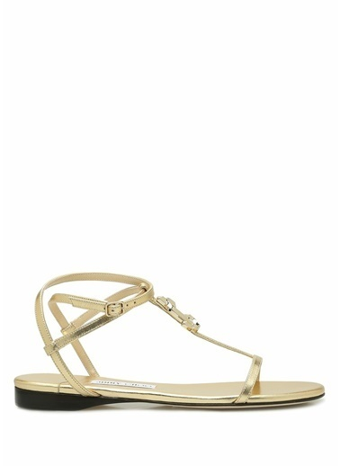 Jimmy Choo Sandalet Altın